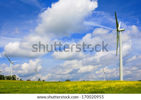 Energy Solution for the 21st Century - stock photo
