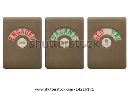 Toilet Occupied Stock Photos Images Amp Pictures