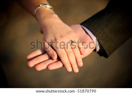 Engagement - hands