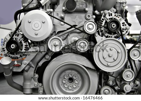 Engine - stock photo