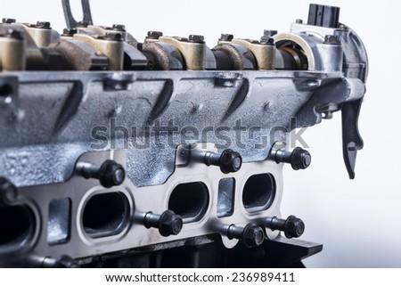 Engine - stock photo