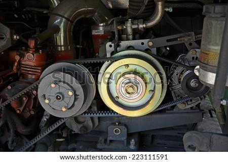 engine gear - stock photo