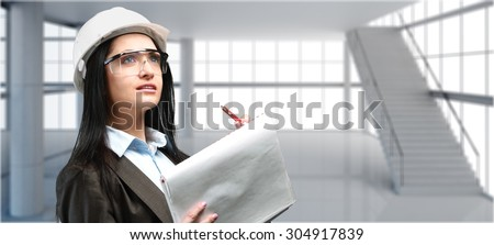 Engineer. - stock photo