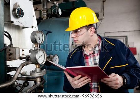 Engineer at work - stock photo