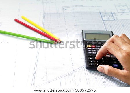 Cost estimate stock images royalty free images vectors for Cost to build calculator free