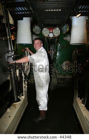 Engineer in the Engine Room