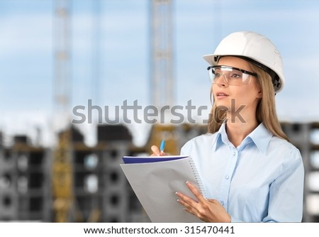 Engineer Occupation. - stock photo