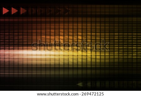 Engineering Abstract and Industrial System as Art background - stock photo