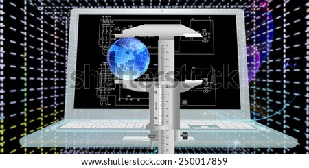 Engineering computing designing connection.High Speed Internet