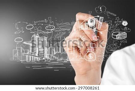 Engineering, engineer, idea. - stock photo