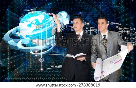 Engineering industrial designing technology - stock photo