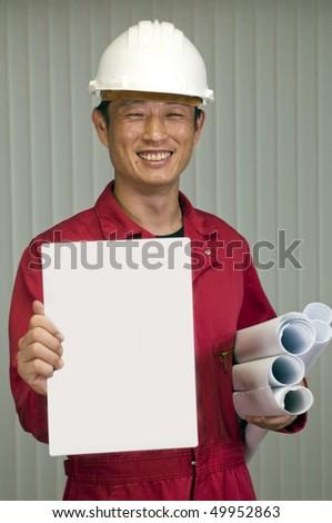 Engineering job - stock photo
