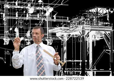 Engineering manufacturing industrial technology - stock photo