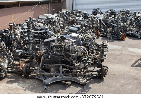 Engines of cars for sale