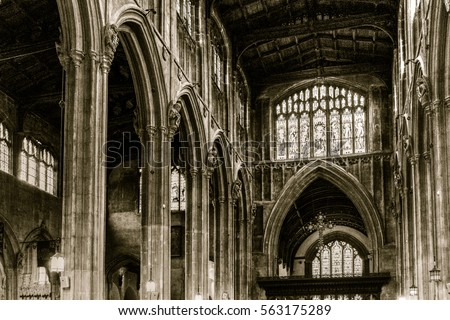 Early English Gothic Stock Images Royalty Free Vectors