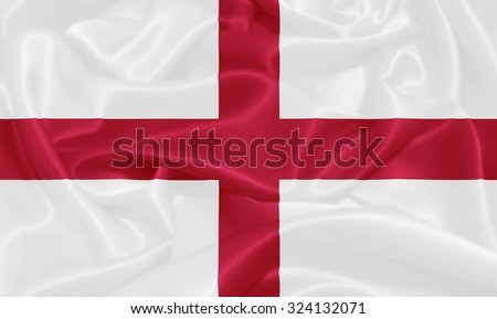 England Flag - stock photo