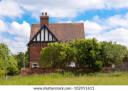England house - stock photo