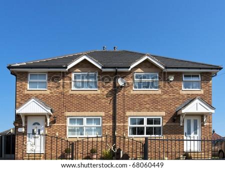 England House - stock photo
