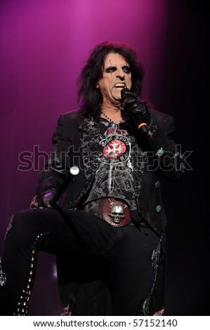 englewood nj oct 23 alice cooper performs on the eve of halloween at