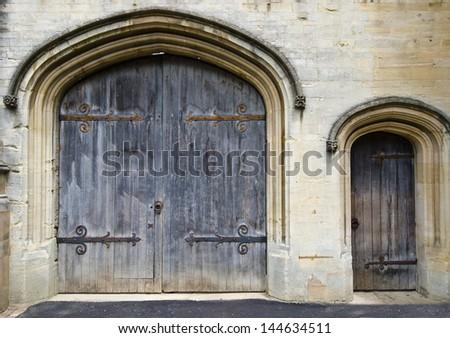 English doors - stock photo