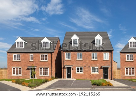 English estate - stock photo