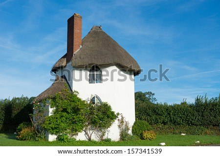 English fairy tail cottage - stock photo