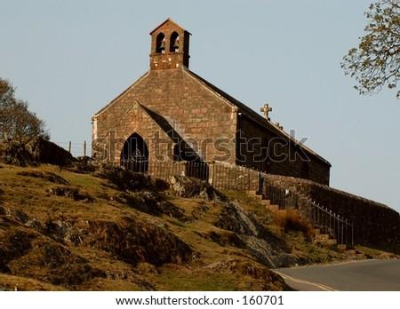 English Hill Church - stock photo