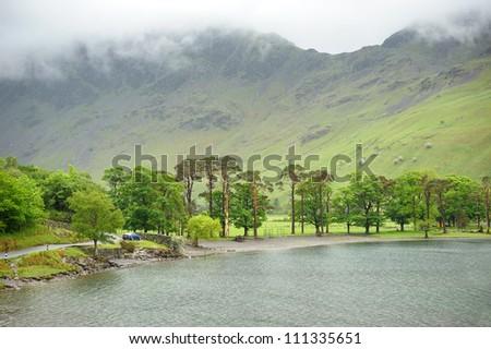 English Lake District - stock photo
