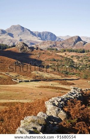 English landscape - stock photo