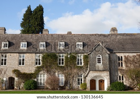 English Manor House - stock photo