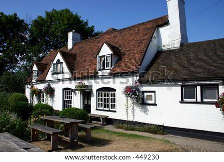 English Pub - stock photo