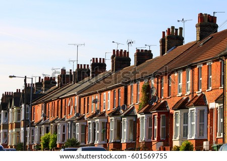 Terraced Houses Stock Images Royalty Free Images