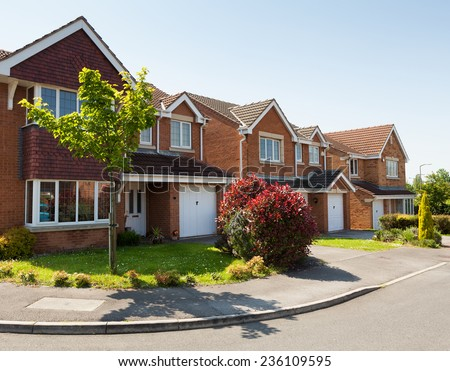 English street - stock photo