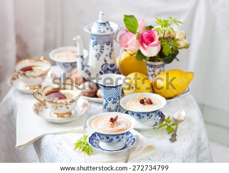 English tea ceremony