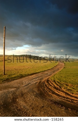 English Track - stock photo
