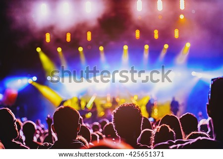 Enjoining the concert, concept
