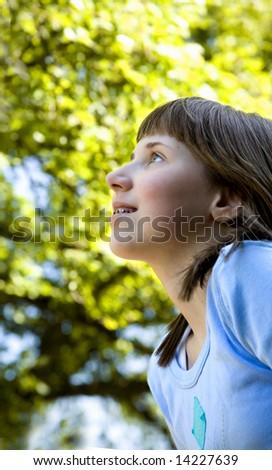 Enlightened Child - stock photo