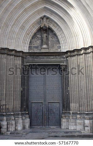 Entrance - stock photo