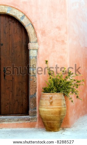 Entrance - stock photo