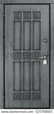 Entrance door (metal door, concept)