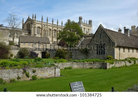 Entrance to Christ Church College, Oxford