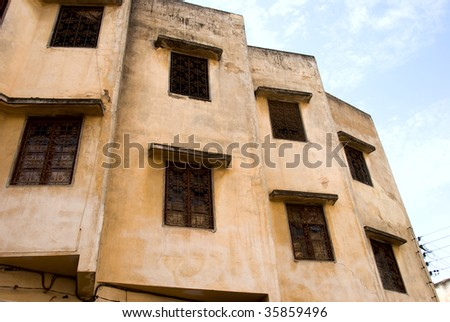 Entrance to Madina, Fes, Morocco - stock photo