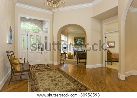 Entry Hall - stock photo