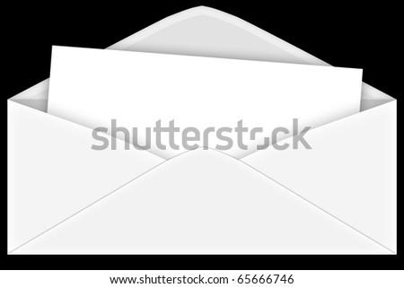 envelope - stock photo