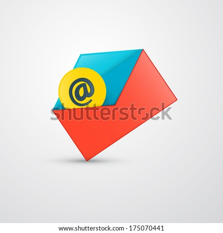 Envelope - E-mail Icon - Also Available in Vector Version