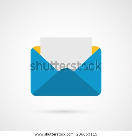 Envelope Mail. E-mail - stock photo