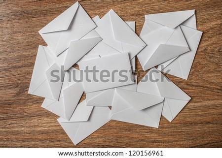 Envelopes - stock photo