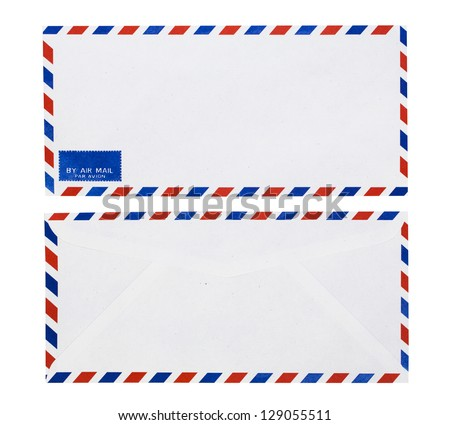 Envelopes (with clipping path)