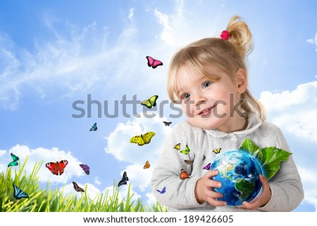 environment concept -  Usa furnished by NASA  - stock photo