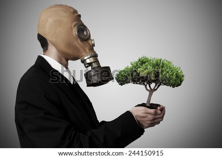 environmental conservation - stock photo